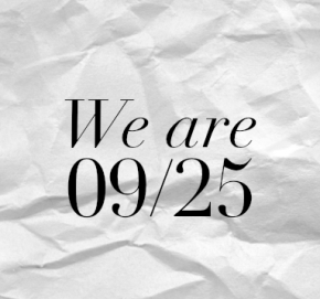 WE ARE –09/25