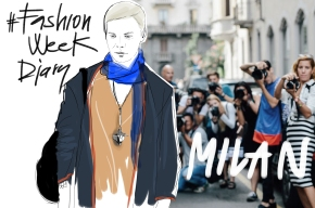 #FashionWeekDiary for GLAMOUR